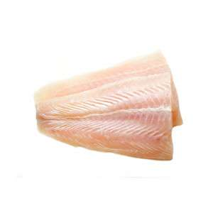Fresh caught 2 slices of Haddock fillet without skin